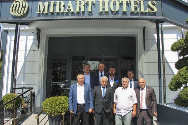 YTSO Yönetiminden Mirart Butik Otel & Spa'ya Hayırlı Olsun Ziyareti