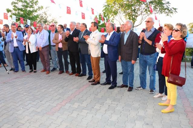 Bayraktepe Sosyal Tesisleri'nin Açılışı Yapıldı