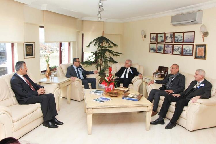 Defterdarlıktan YTSO'ya Vergi Haftası Ziyareti