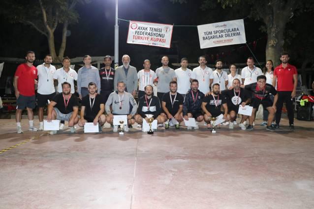 'Ayak Tenisi' Türkiye Kupası Elemeleri Gerçekleştirildi