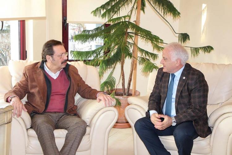 Hisarcıklıoğlu YTSO'yu Ziyaret Etti