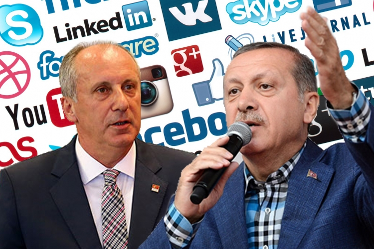 İnce, Erdoğan'ı Sosyal Medya'da Geçemedi
