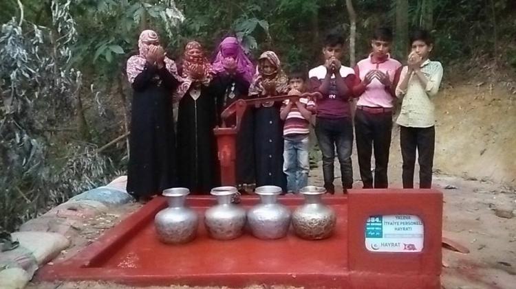 İtfaiyecilerimizden Bangladeş'te Kuyu