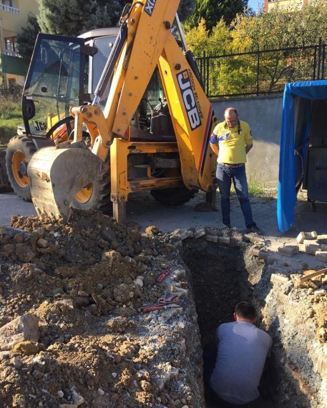 Kadıköy'de İçme Suyu İshale Hattı Yenileniyor