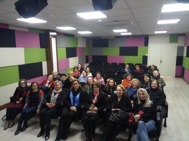Kadın Konseyi Afet Eğitimi Aldı