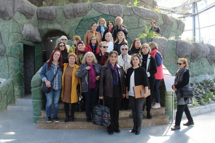 Kadın Meclisi Geofit Bahçesini Gezdi