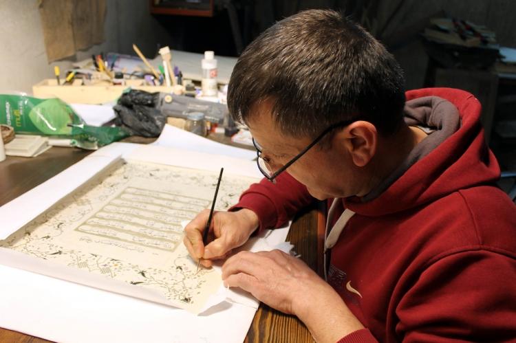 Kağıt Müzesinden Sanatçıya Özel Kağıt Üretimi