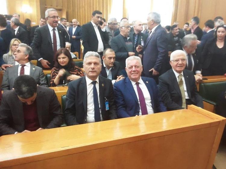 Kangal, CHP Grup Toplantısına Katıldı