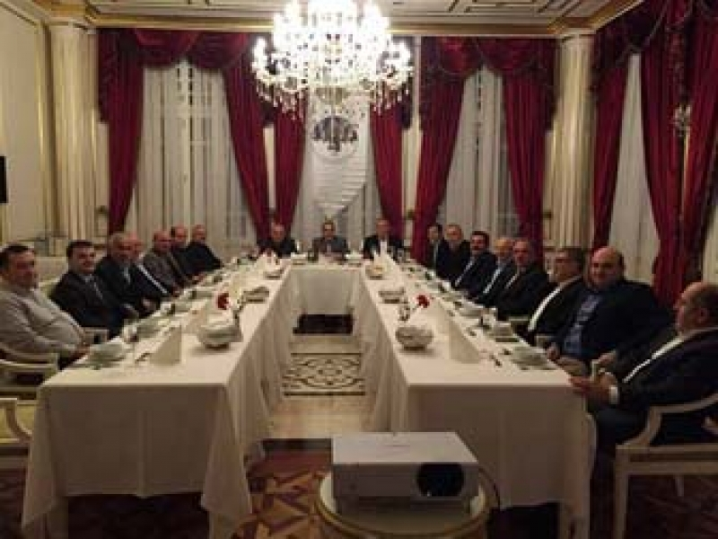 Karaosmanoğlu, Başkanların Konuğu Oldu