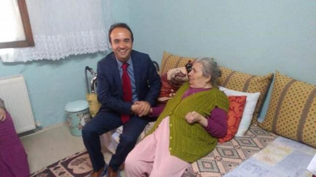Kaymakam Özyiğit Hastaları Ziyaret Etti