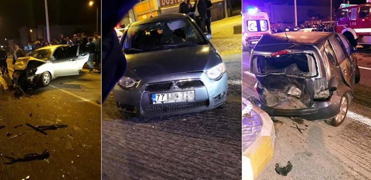 Altınova'da Trafik Kazası: 7 Yaralı