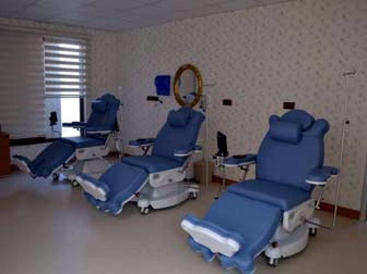 Kemoterapi Ünitesi 571 Kişiye Hizmet Verdi