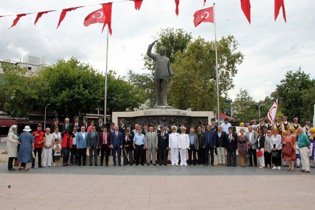Kıbrıs Barış Harekatının 44. Yıldönümü Kutlandı