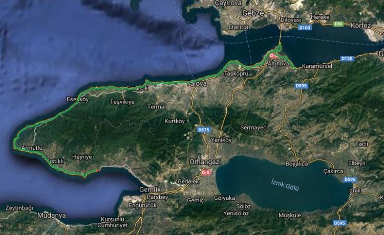 Kıyı Kenar Çizgisi Haritası Kamuoyuna Açıldı