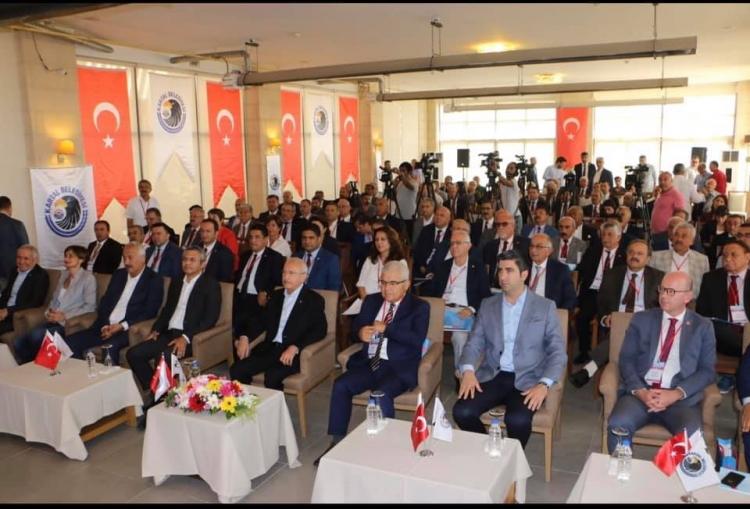 Koçak CHP İl Başkanları Toplantısına Katıldı