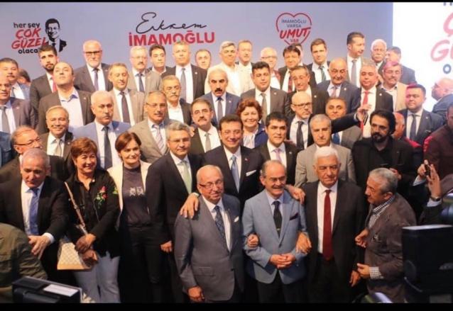 Koçak İmamoğlu'nun Seçim Kampanyası Startına Katıldı
