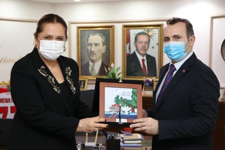 Kosova Başkonsolosu'ndan Tutuk'a Ziyaret