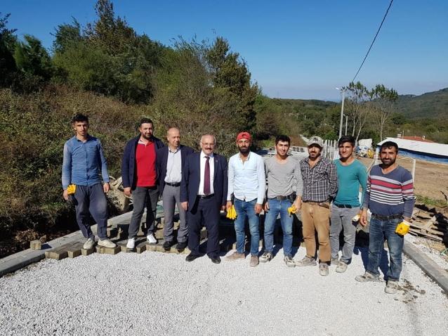 Köy Yollarına 1 Milyon 356 Bin TL Harcandı