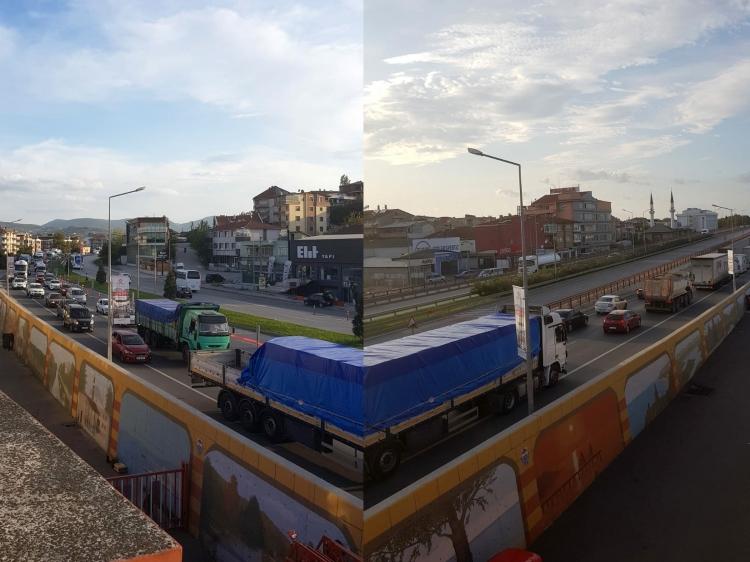 Trafik Çilesi Sürüyor