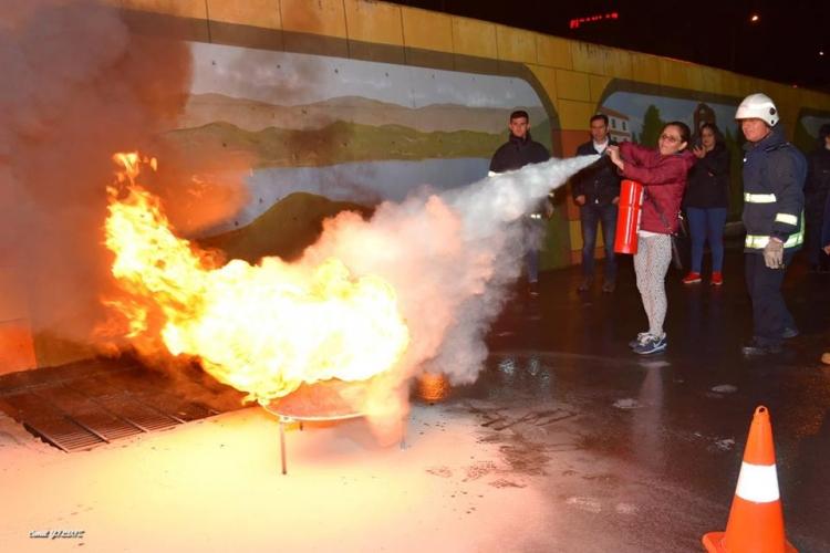 Mag Adaylarına Yangın Eğitimi