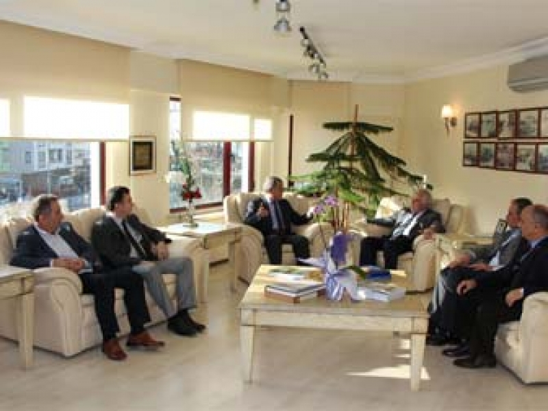 Mali müşavirler Odası, YTSO'yu Ziyaret Etti