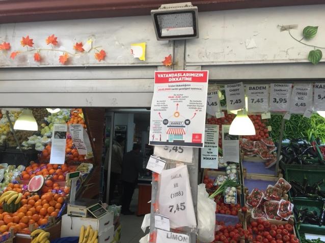 Marketler 09:00-21:00 Saatleri Arasında Açık Olacak