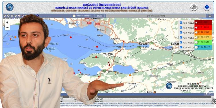 """""""Marmara"""" Değil """"Yalova Depremi"""" Olacaktır"""