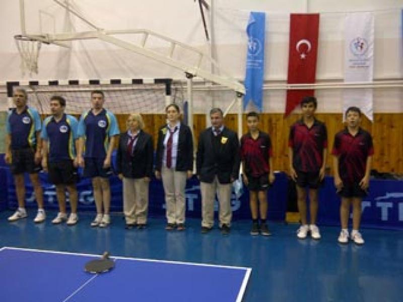 Masa Tenisi 2.Ligi'nde İlk Yarı Sona Erdi