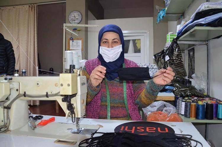 Girişimci Terziden 'Yıkanabilir Maske