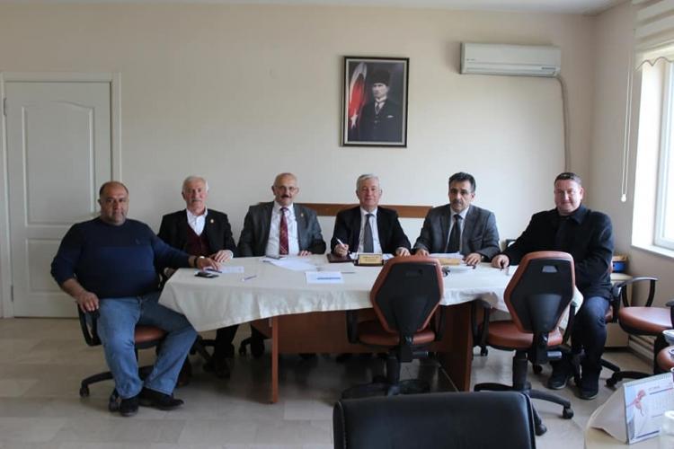 Merkez Köylere Hizmet Birliği Son Toplantısını Yaptı