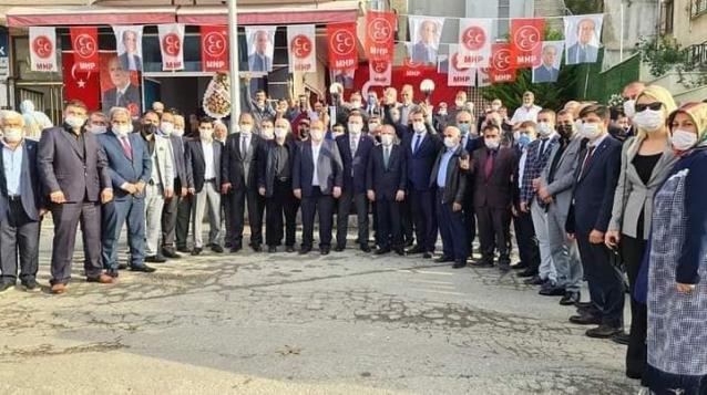 MHP Esenköy İlçe Binasını Bülbül Ve Kotra Açtı
