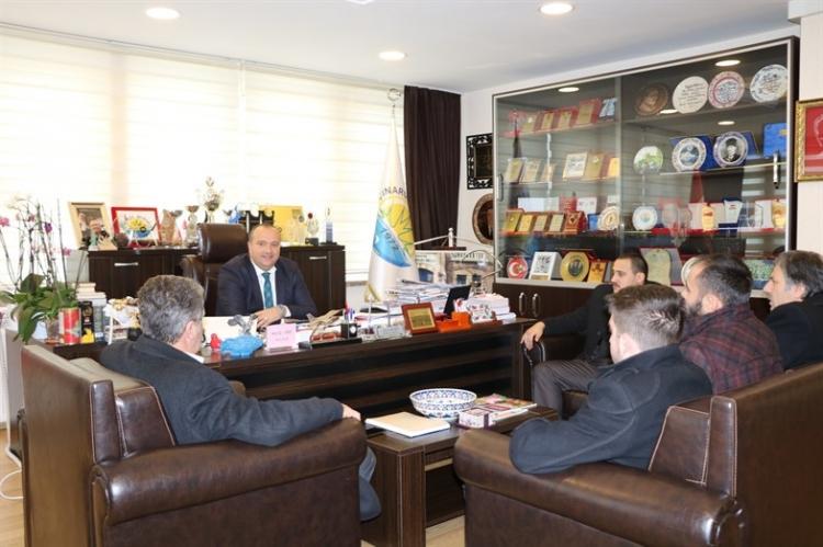 MHP'den Başkan Kurt'a Ziyaret