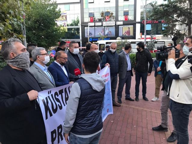 MHP'den Fransa'ya Protesto