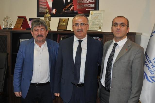 MHP'den Kalyon'a Hayırlı Olsun Ziyareti
