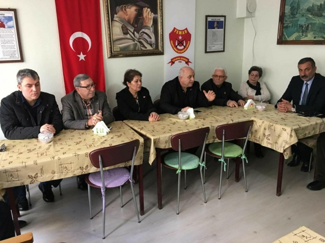 MHP'den Temad'a Ziyaret