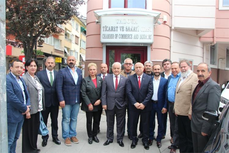 MHP'li Aday Adaylarından YTSO'ya Ziyaret
