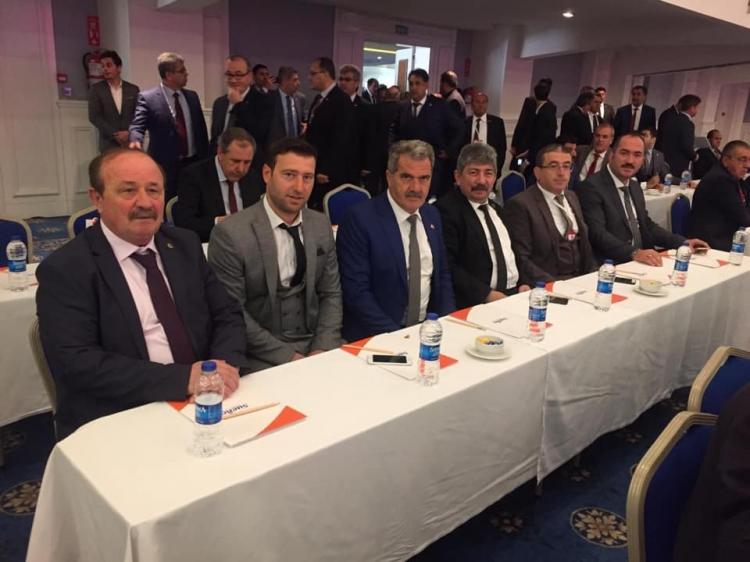 MHP'li Başkanlar Bahçeli İle Buluştu