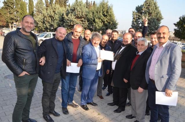 MHP'li Başkanlar Mazbatalarını Aldı