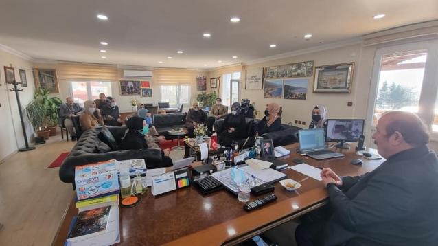 MHP'li Kadınlardan Temel'e Ziyaret
