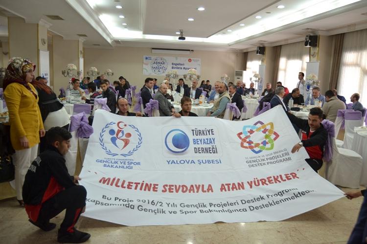 """""""Milletine Sevdayla Atan Yürekler"""" Projesi Tanıtıldı"""