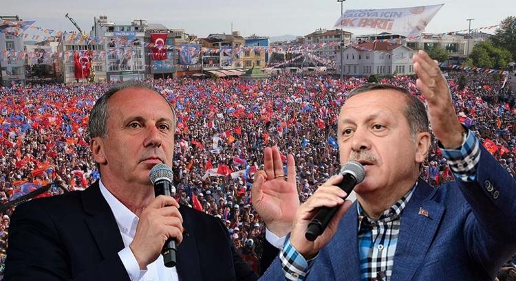 Erdoğan Ve İnce Aynı Gün Yalova'da