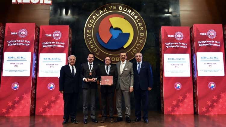 Türkiye'nin En Hızlı Büyüyen Şirketlerinde İlk 100'de  2 Yalova Firması