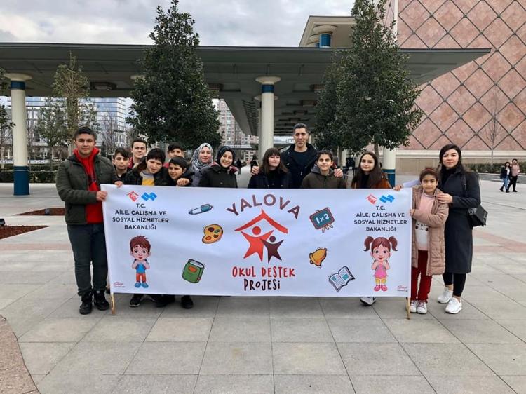 Mülteci Çocuklar Ankara'yı Gezdi