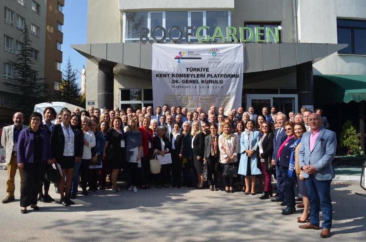 Mutlu, Kent Konseyleri Platformu Genel Kuruluna Katıldı