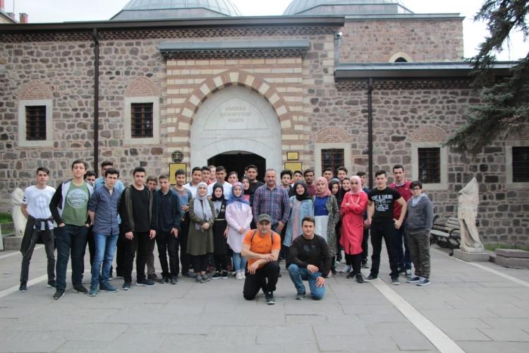 Öğrenciler Ankara'yı Gezdiler