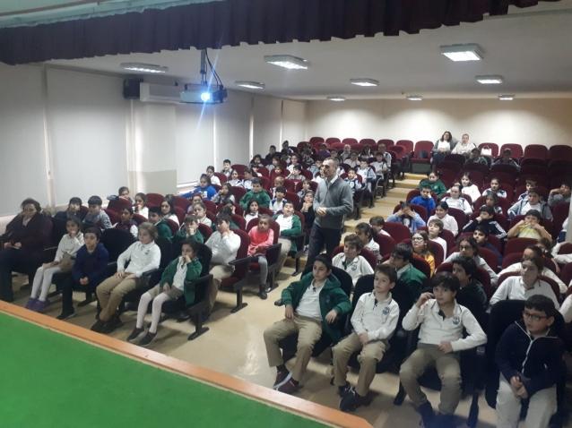 Öğrencilere Çevre Ve Sıfır Atık Eğitimi Verildi