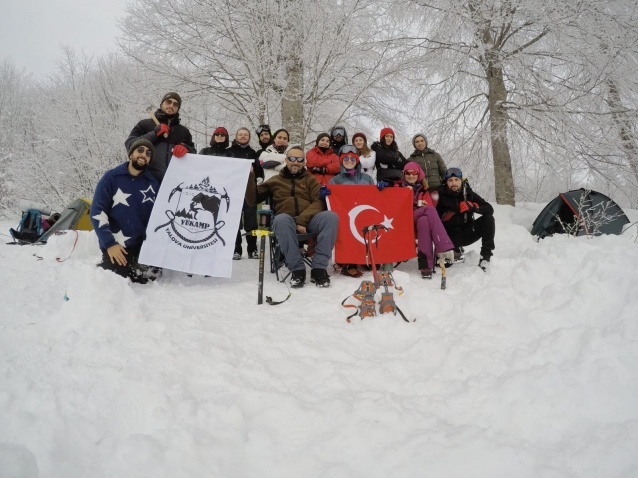 Öğrencilere Kış Temel Eğitim Kampı