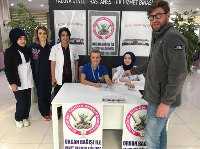 Organ Bağışı Konusunda Vatandaş Bilgilendirildi