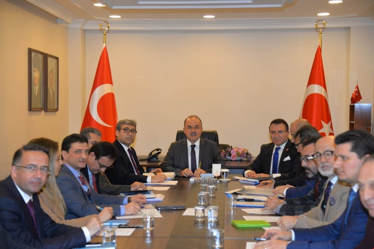 OSB Koordinasyon Toplantısı Yapıldı