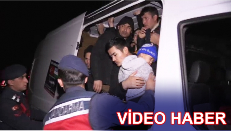 Osmangazi Köprüsü'nde 48 Düzensiz Göçmen Yakalandı